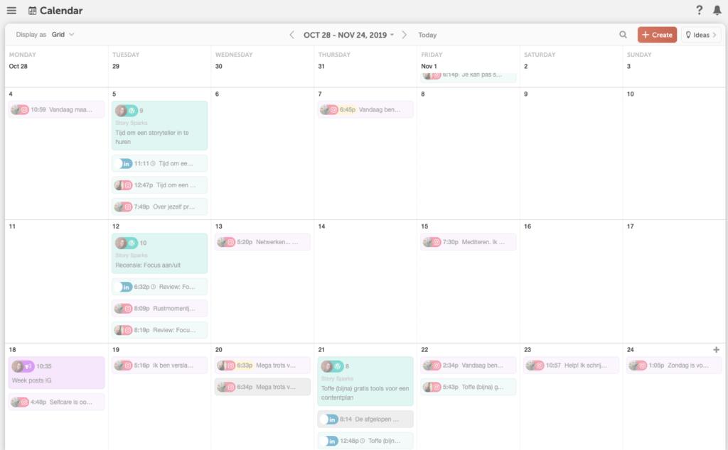 Contentplanning met CoSchedule